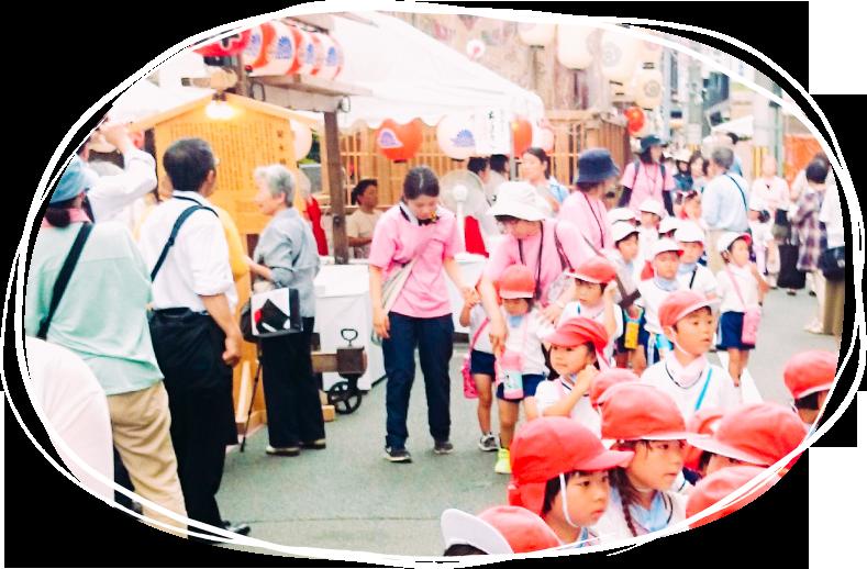 祇園祭見学